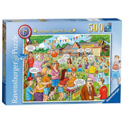 Ravensburger 14749-6 School Sports Day Puzzle 500pc