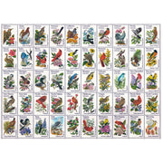 Ravensburger 13224-9 50 Bird Stamps Large Format Puzzle 300pc
