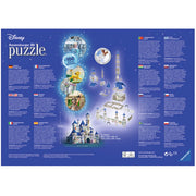 Ravensburger 12587-6 Disney Castle 3D Puzzle 216pc