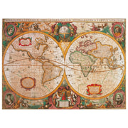 Clementoni 31229 HQ Collection Old Map Puzzle 1000pc