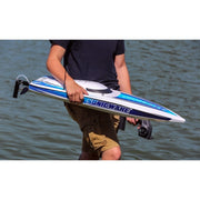 ProBoat Sonicwake 36in Self-Righting Brushless Deep-V RC Boat (White)