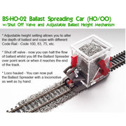 Proses BS-HO-02 HO/OO Advanced Ballast Spreader Car