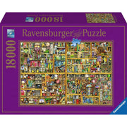 Ravensburger 17825-4 Magical Bookcase Puzzle 18000pc*