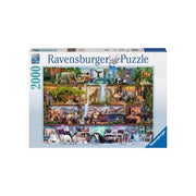 Ravensburger 16652-7 Wild Kingdom Puzzle 2000pc