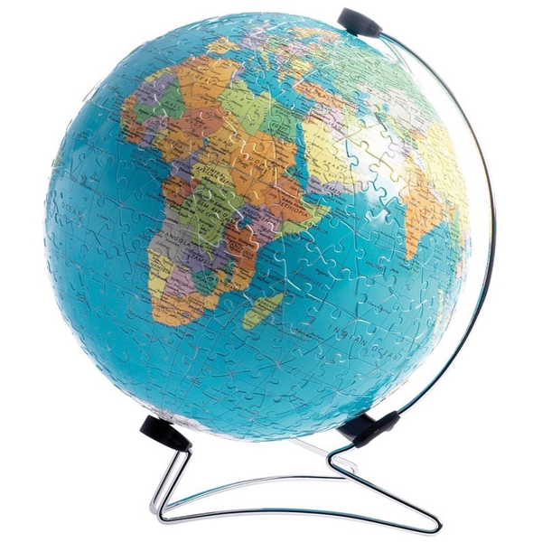 Ravensburger World Globe 3D Puzzle Ball 540pce