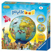 Ravensburger 2212-7 Childrens Globe 3D PuzzleBall 108pc