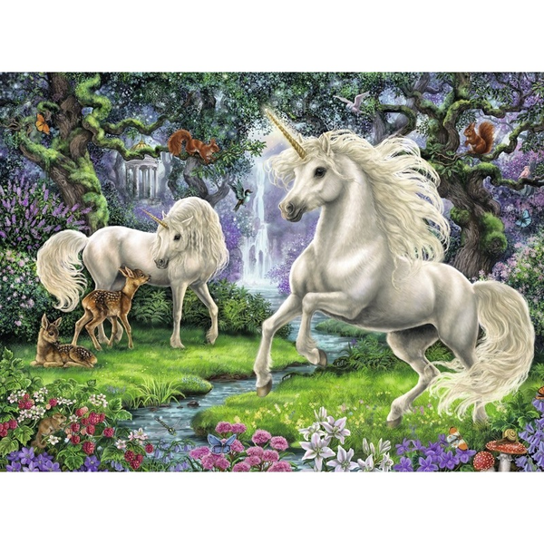 Ravensburger Mystical Unicorns Puzzle 200pc