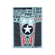Tamiya S9495742 Sticker for Fast Attack