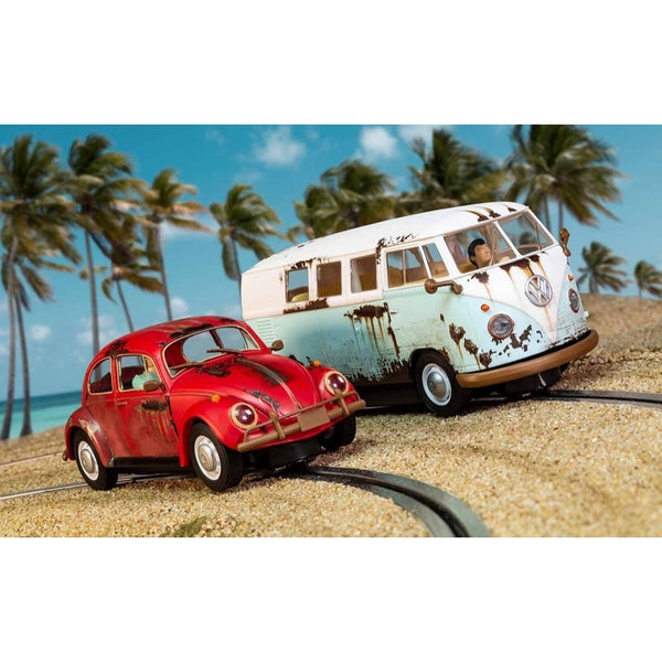 Scalextric VW Beetle and Camper Van Limited Edition