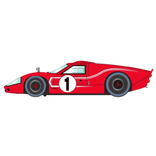 Scalextric Ferrari and Ford GT MkIV Le Mans 1967 Triple Pack (Limited Edition)