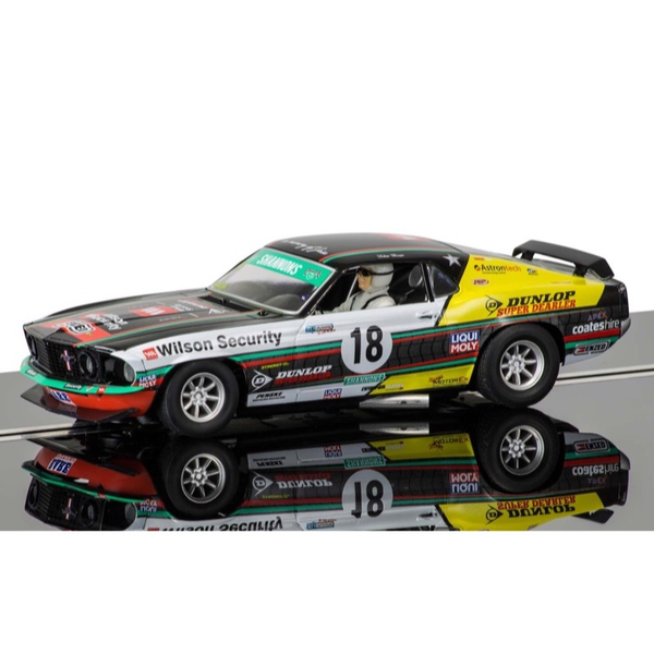 Scalextric Ford Mustang Boss 302 1969 2014 Clipsal 500 (John Bowe)