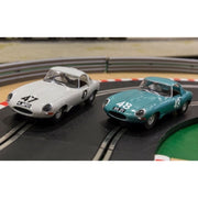 Scalextric C3898A Legends Jaguar E-Type 1963 International Trophy Twin Pack Limited Edition*
