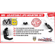 Schumacher U4867 Adjustable LiPo Mounting Set Mi6