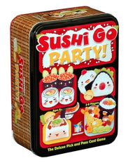 Sushi Go Party! Board Game in a Tin