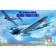 Tamiya 60780 1/72 Mitsubishi A6M2b Zero Fighter (Zeke) Plastic Model Kit