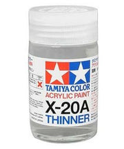 Tamiya 81030 X-20A Acrylic Thinner (46ml)