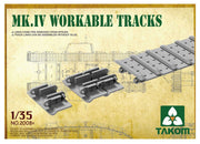 Takom 2008X 1/35 Mark IV Workable Tracks