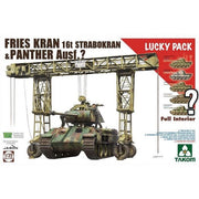Takom 2108 1/35 Fries Kran 16t Strabokran & Panther Limited Edition