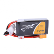 Tattu 11.1V 850mAh 3S/3 Cell 75C Soft Case Lipo Battery (XT30 Plug)