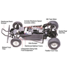 Tamiya 58346 Grasshopper (2005) 1/10 Off Road RC Kit