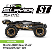 BlackZon Slayer ST BZ540091 1/16 4WD Brushed Electric RC Stadium Truck (Gold Edition)