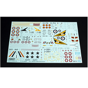 Kinetic 48054 1/48 Mirage IIIBE/D/DE/DS/D2Z with RAAF Decals