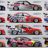 Authentic Collectibles Holden Bathurst Winners 50th Anniversary Print