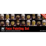 Vallejo 70119 Model Colour Set 119 - Faces Painting Set