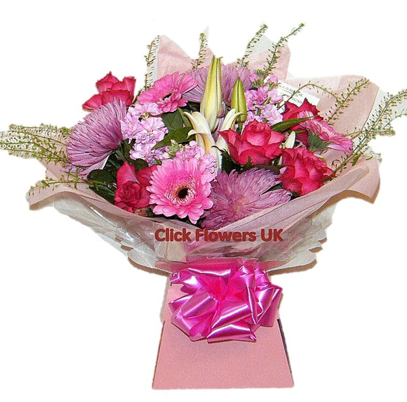 Pretty in Pink Selection Bouquet