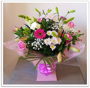 Raspberry Ripple Selection Bouquet