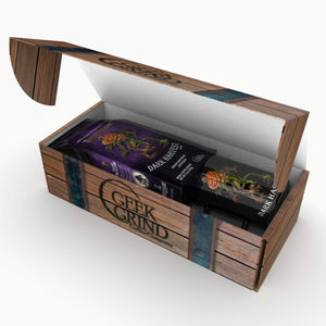 Dark Harvest Pathfinder - Dark Roast and Big Mug Coffee Crate Gift Set