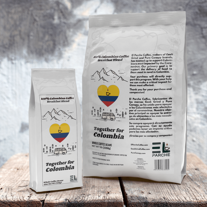 Together For Colombia - Relief Benefit - Breakfast Blend