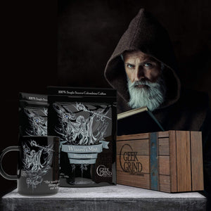 Wizard's Mist Coffee and Big Mug - Coffee Crate Gift Super Set
