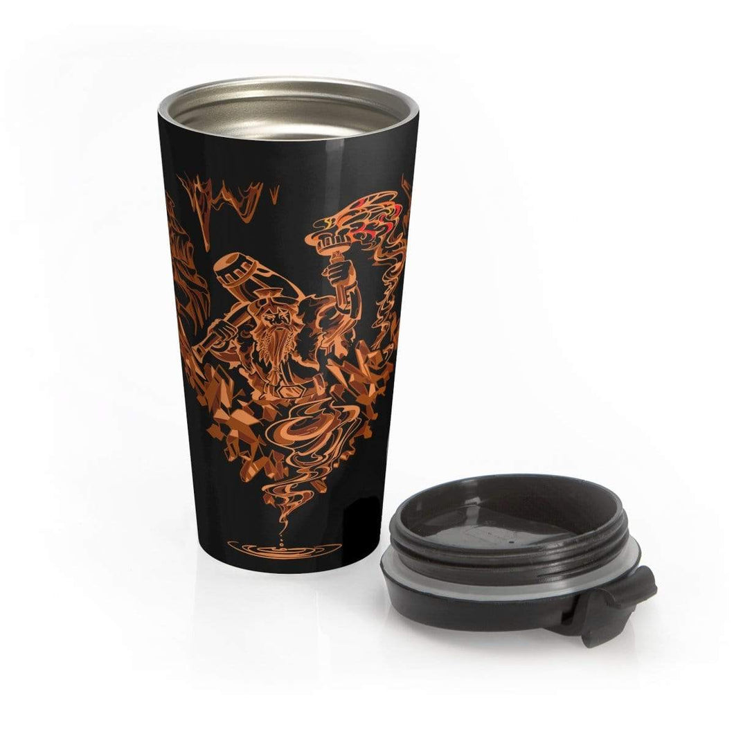 Dwarven Dawn Stainless Steel- Do Not Travel Mug