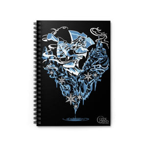 Frost Giant  - Spiral Notebook - Ruled Line
