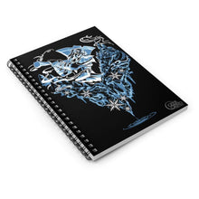 Load image into Gallery viewer, Frost Giant  - Spiral Notebook - Ruled Line