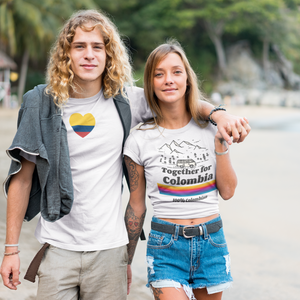 Women's T-Shirt - Geek Grind - Together For Colombia