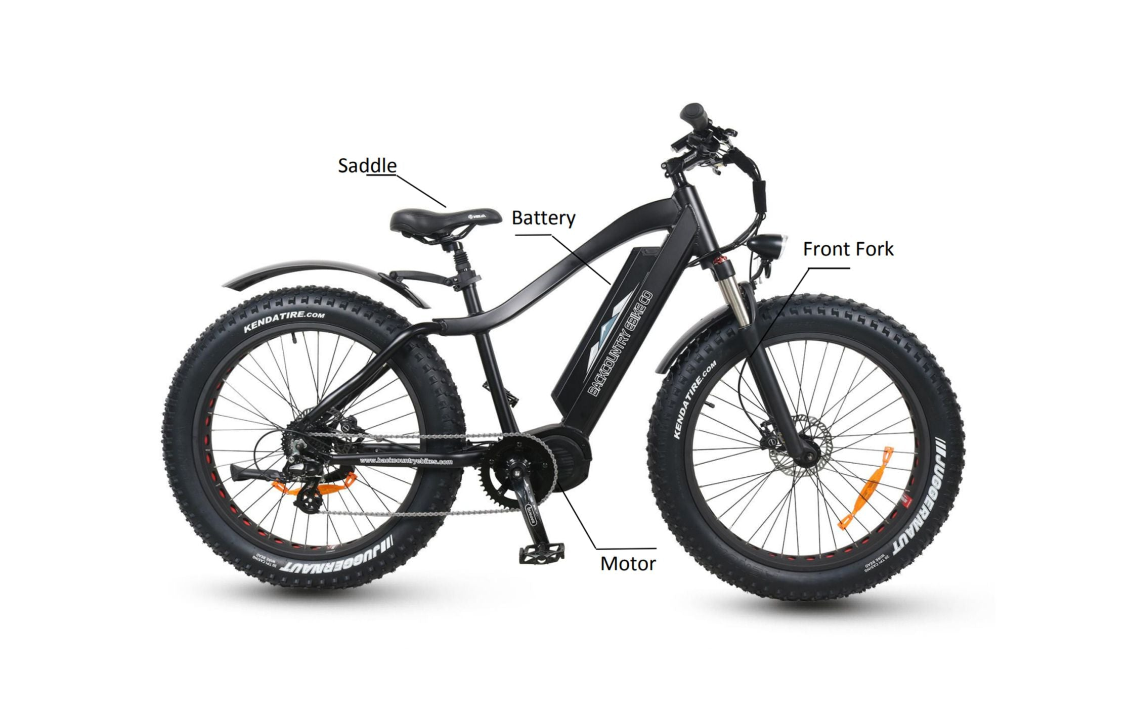 Bakcou Electric Hunting Bike