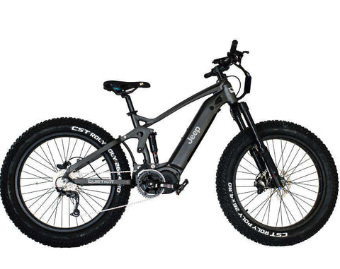 Jeep® e-Bike powered by QUIETKAT