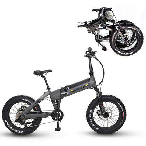 QuietKat 2020 Voyager Folding Electric Bike