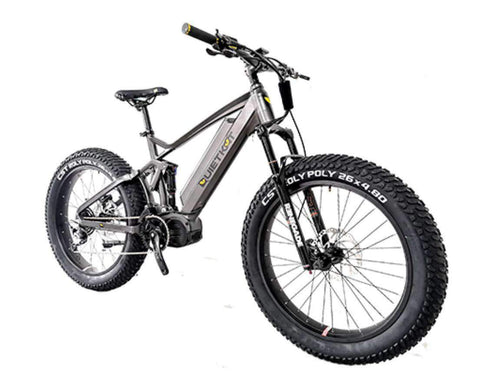 2020 Quietkat RidgeRunner Full Suspension eBike