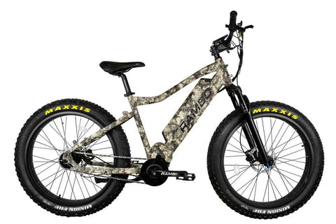 Image of Rambo Bushwacker 750W XPC Truetimber Electric Hunting Bike