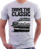Drive The Classic Opel Manta B Early Model. T-shirt in White Colour