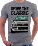 Drive The Classic Lancia Delta Integrale (Japan). T-shirt in Heather Grey Colour