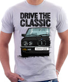 Drive The Classic BMW E28. T-shirt in White Colour