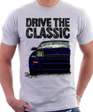 Drive The Classic Toyota Celica 5 Generation ST185 GT4 Carlos Sainz. T-shirt in White Colour