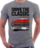Drive The Classic Chevrolet Nova 1966. T-shirt in Heather Grey Colour
