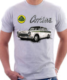 Ford Lotus Cortina Mk1. T-shirt.