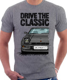 Drive The Classic Porsche 924 Turbo. T-shirt in Heather Grey Colour