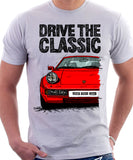 Drive The Classic Porsche 928 Early Model. T-shirt in White Colour